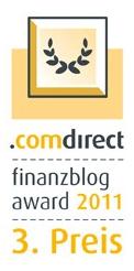Finanzblog Award 3. Platz